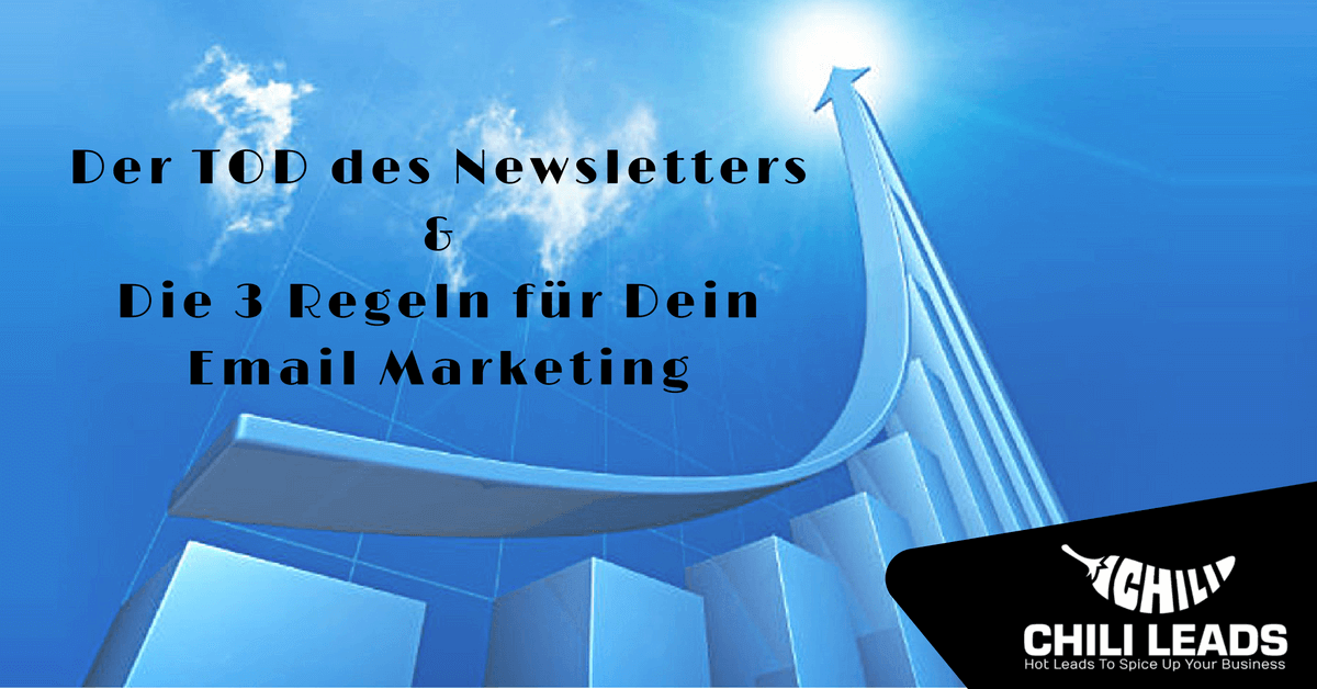 Der Tod des Newsletters – Lang lebe die M.A.P. Email